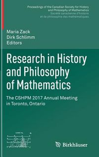 Research in History and Philosophy of Mathematics