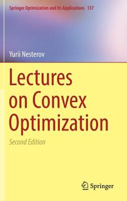 Lectures on Convex Optimization