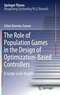 The Role of Population Games in the Design of Optimization-based Controllers