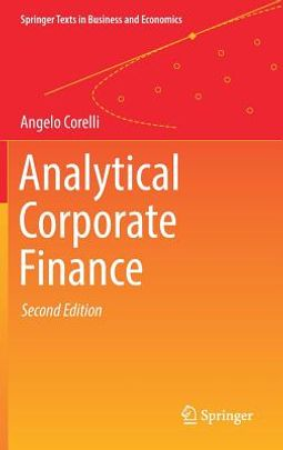 Analytical Corporate Finance