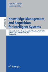 Knowledge Management and Acquisition for Intelligent Systems