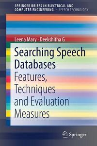 Searching Speech Databases