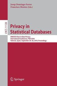 Privacy in Statistical Databases