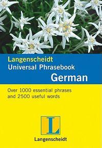Langenscheidt Universal Phrasebook German