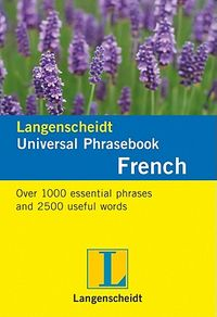 Langenscheidt Universal-Phrasebook French