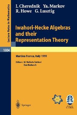 Iwahori-Hecke Algebras and Their Representation Theory