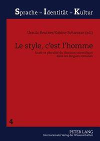 Le Style, C?est L?homme