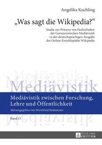 Was Sagt Die Wikipedia?