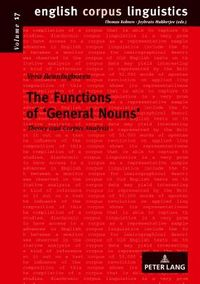 The Functions of General Nouns