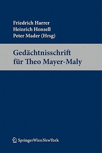 Gedachtnisschrift Fur Theo Mayer-maly