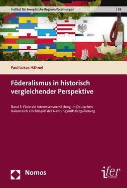Foderalismus in Historisch Vergleichender Perspektive