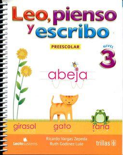 Leo, pienso y escribo / Read, think and write