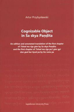 Cognizable Object in Sa Skya Pandita