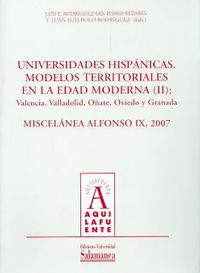 Universidades hipanicas/ Hispanic Universities