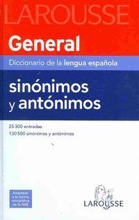 General Diccionario de la lengua espanola/ General Dictionary Spanish Language