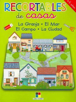 Recortables de casas/ Paper Cutouts of Houses