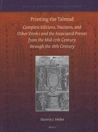 Printing the Talmud