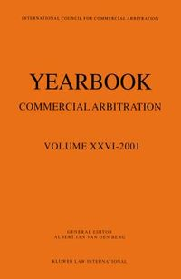 Yearbook Commercial Arbitration 2001