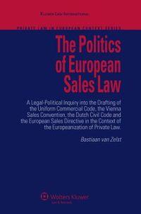 The Politics of European Sales Law