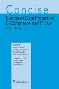 Concise European Data Protection, E-commerce and It Law