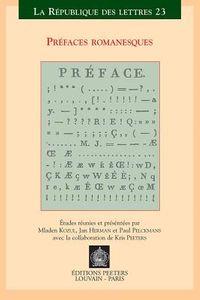 Prefaces Romanesques