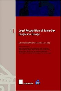 Legal Recognition of Same-Sex Couples in Europe
