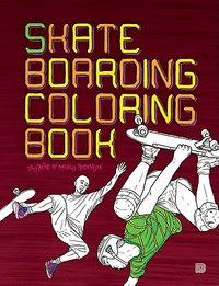 Skateboarding Coloring Book