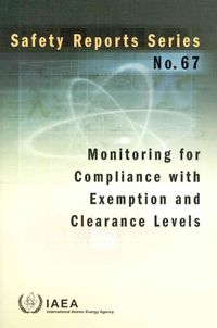 Monitoring for Compliance With Exemption and Clearance Levels