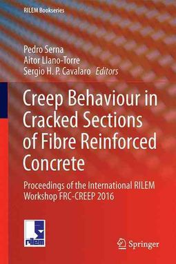 Creep Behaviour in Cracked Sections of Fibre Reinforced Concrete