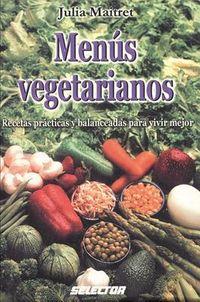 Menus vegetarianos / Vegetarian Menus