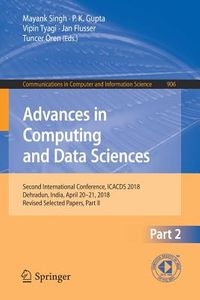 Advances in Computing and Data Science