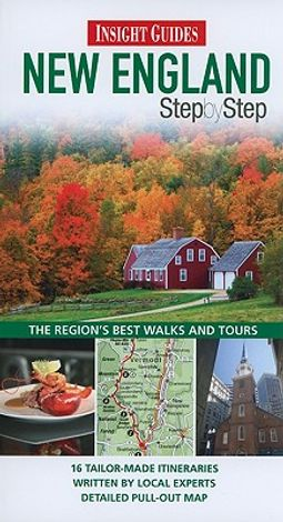 Insight Guides Step by Step New England